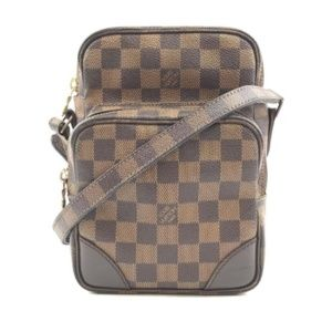 Messenger Amazon Damier Ébène Canvas Bag